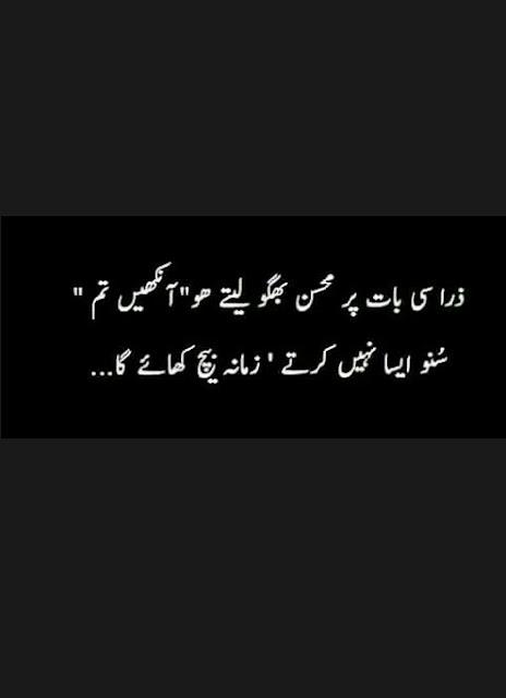 Zara Si Baat Par Muhsan Baghoo Leanty Ho Ankhen Tum | Urdu 2 Lines Love Poetry #Urdu 2 Lines Love Poetry