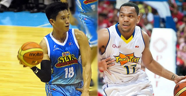 James Yap (left), Jayson Castro (right)