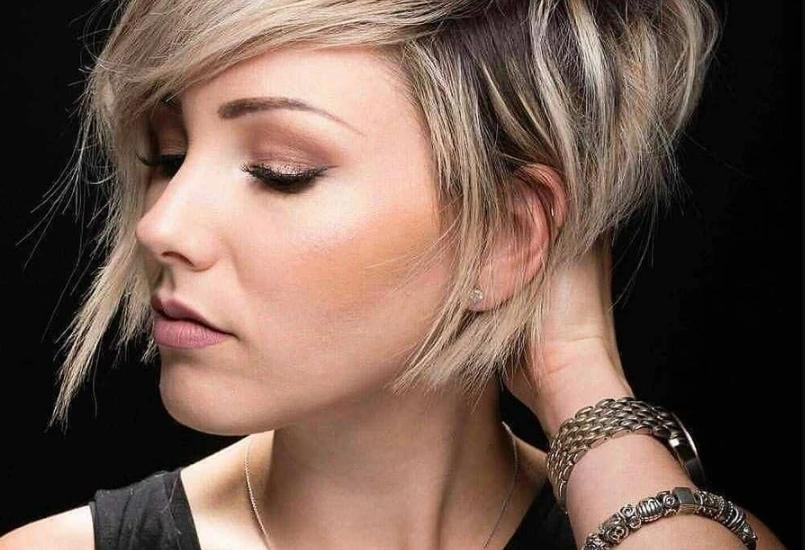 Haircuts for an oval face short hair