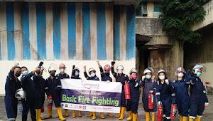 Tingkat Kebakaran Tinggi Transafe Bekali Pelatihan dan Uji Kompetensi Pemadam Kebakaran Sertifikasi BNSP