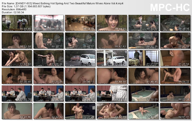 [DANDY-603] Mixed Bathing Hot Spring And Two Beautiful Mature Wives Alone Vol.4