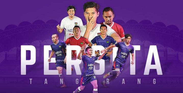 Daftar Pemain Persita Tangerang di Liga 1 2020