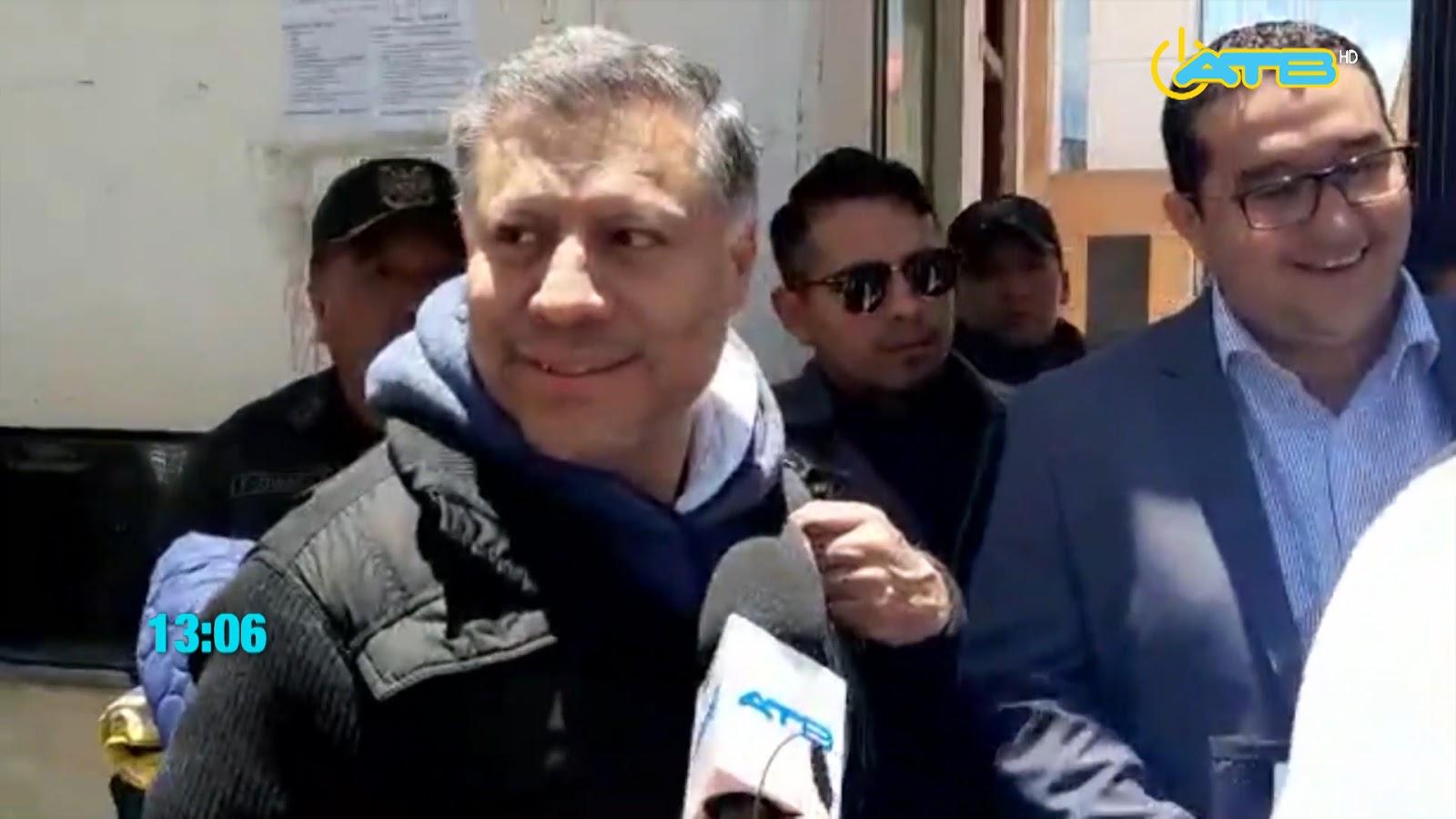 Hurtado fue liberado por una denuncia y nuevamente aprehendido por otra similar / ATB