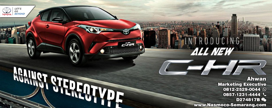 Resmi Diluncurkan, Berikut  Spesifikasi Toyota All New C-HR