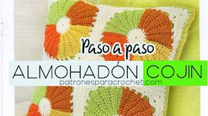 Almohadón * Cojín * Crochet Paso a paso