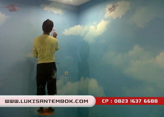 contoh lukisan awan