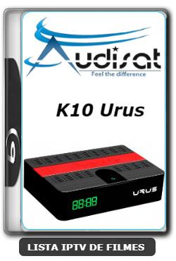 Audisat K10 Urus Nova Atualização Correção SKS 61w V2.0.53 - 25-06-2020