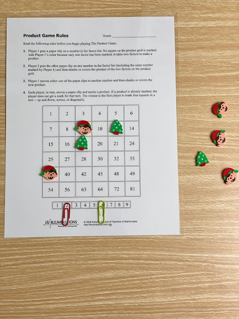The Product Game - Christmas Themed