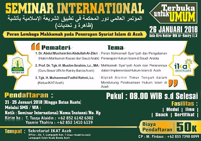 International Conference on Sharia Implementation in Aceh
