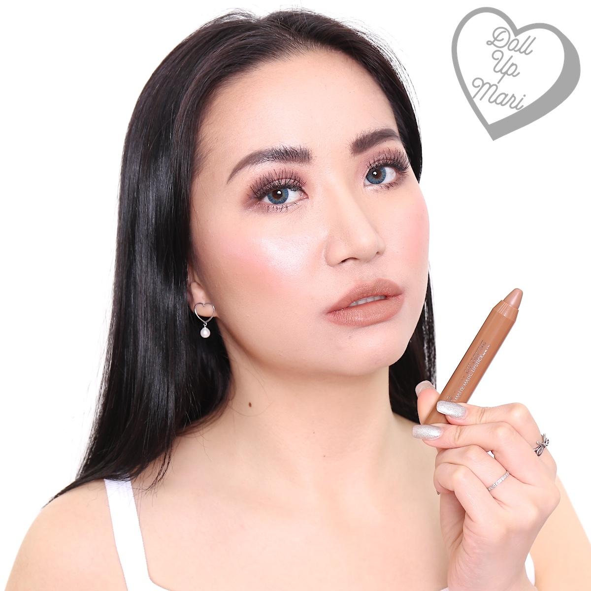 EB Advance Lip Define Matte Matic Lipstick (Exposed Nude