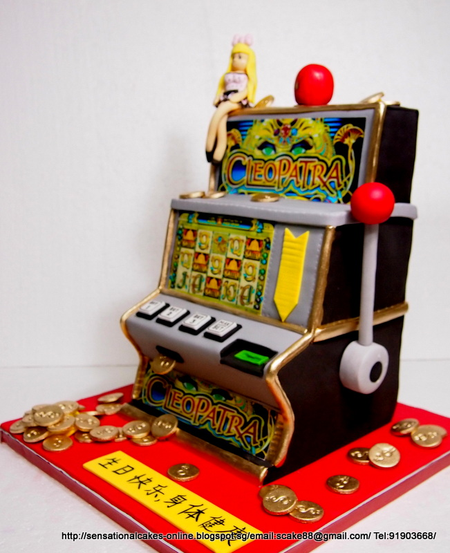 The Sensational Cakes Jackpot Slots Cake Singapore For