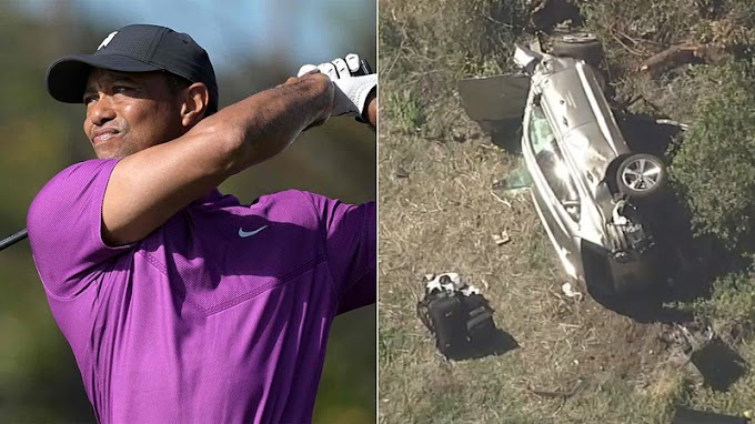 Tiger Woods was driving over 80 mph, nearly twice the legal speed limit, before he crashed, police say