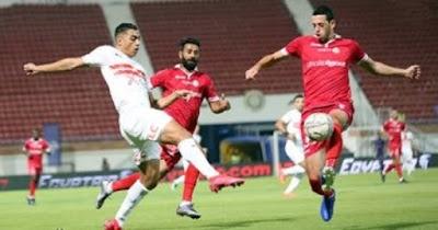 ملخص واهداف مباراة الزمالك وحرس الحدود (2-1) الدوري المصري