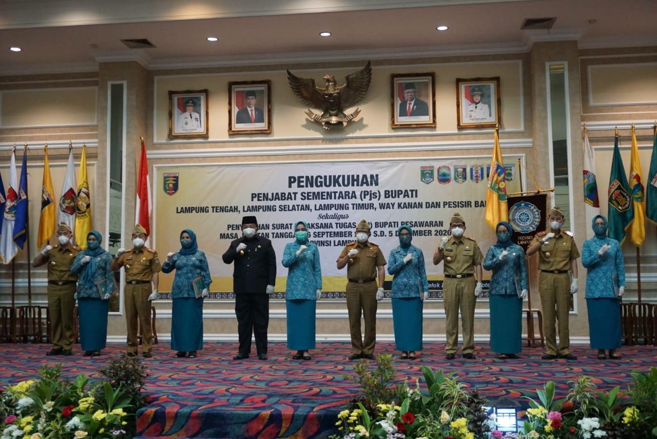 Nanang Ermanto Cuti, Sulpakar Jabat Pjs. Bupati Lampung Selatan