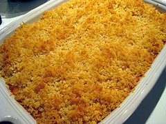 BakedMacaroni and Cheese in Water Bath