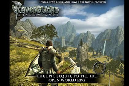 Ravensword Shadowlands game open world prabayar yang bisa kamu mainkan gratis