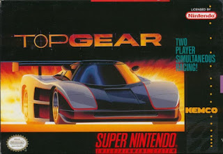 Jogo Top Gear SNES online grátis