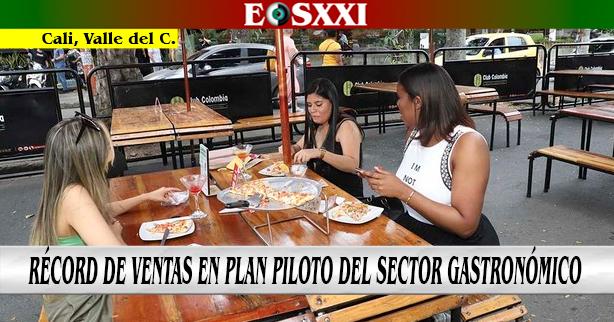 Se reportan cifras positivas en inicio del plan piloto del sector gastronómico