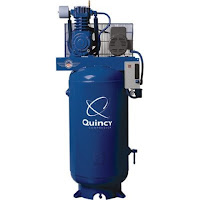 Qunicy 80 gallon 2 stage air compressor 23.8cfm @100psi