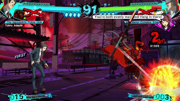 Persona 4: Arena Ultimax (USA) PS3 ISO Screenshots #2
