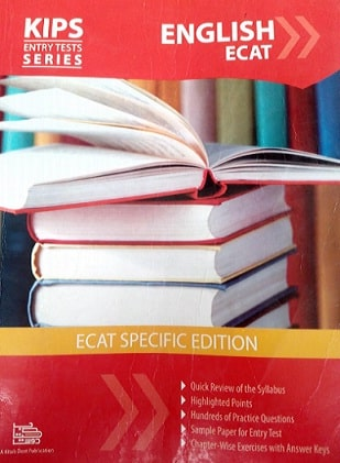KIPS English book For ECAT Entry Test preparation