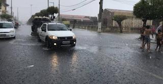 Quase de 200 cidades da Paraíba recebem alerta para chuvas intensas