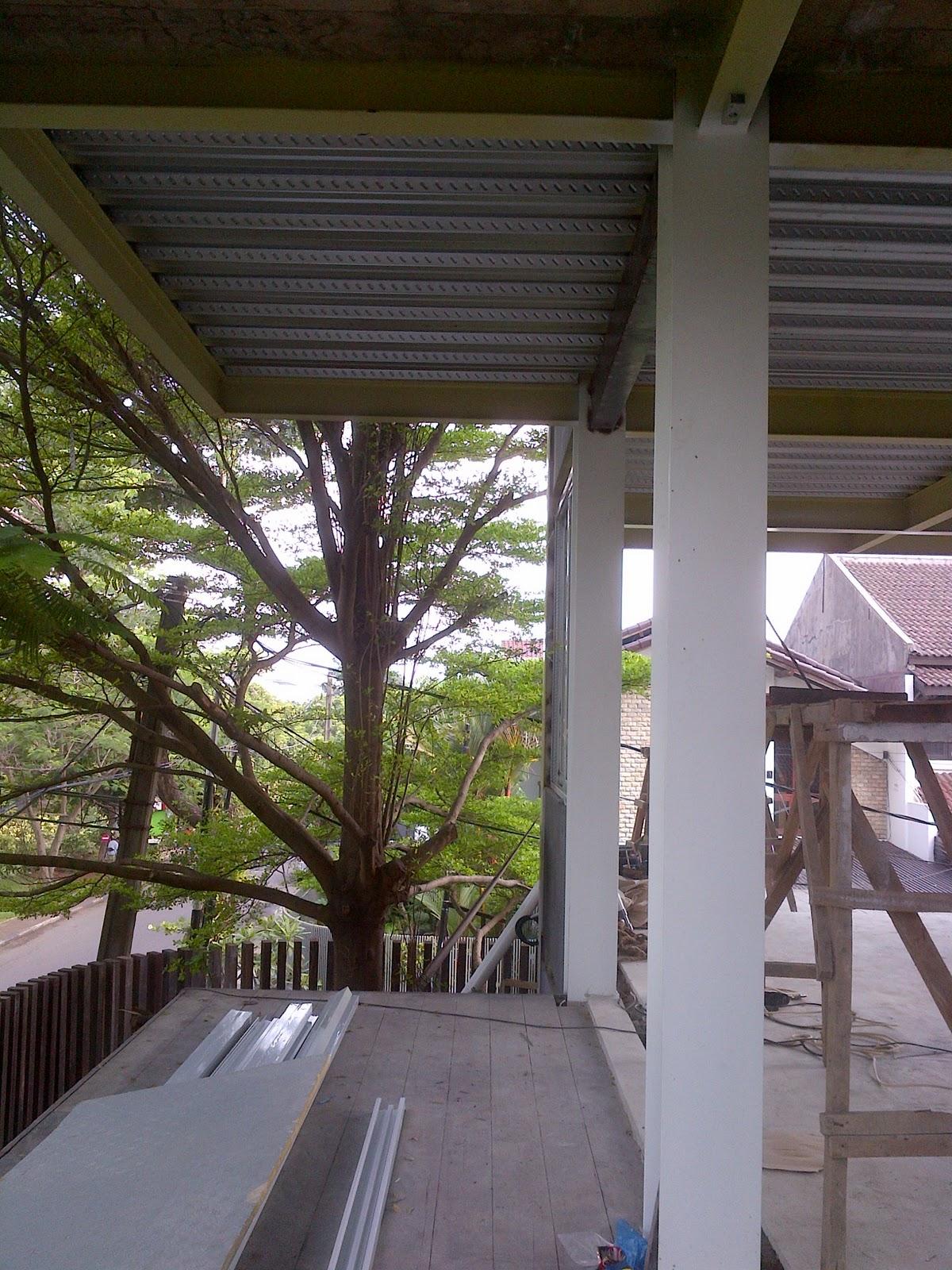 Struktur Baja untuk Rumah Tinggal  architecture and