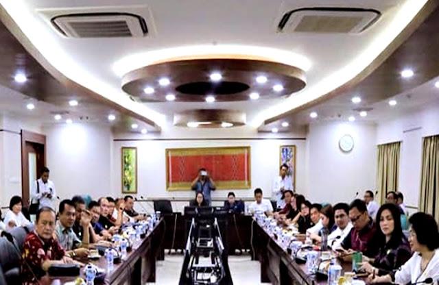 DPD RI di Senayan Terima Kunker Delegasi DPRD Kabupaten Minahasa