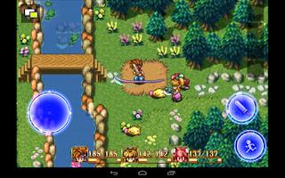 Game yang merupakan perpaduan JRPG dan action buatan Hiromichi Tanaka Unduh Game Android Gratis Secret Of Mana apk + obb