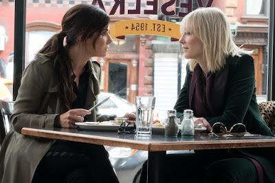 Ocean's 8 Sandra Bullock and Cate Blanchett
