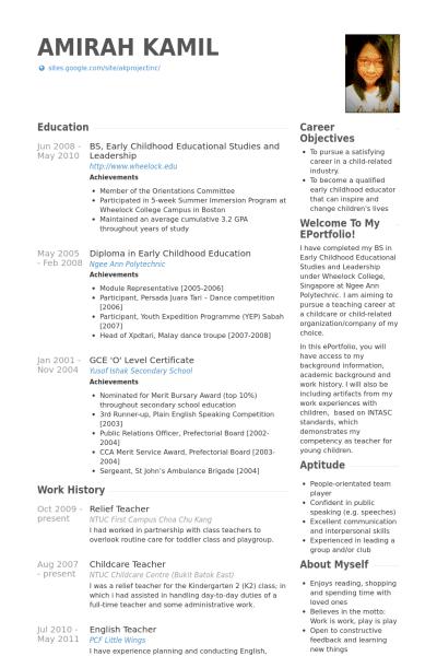 Contoh Cv Dalam Bahasa Inggris Terbaru Beserta Artinya Informasi