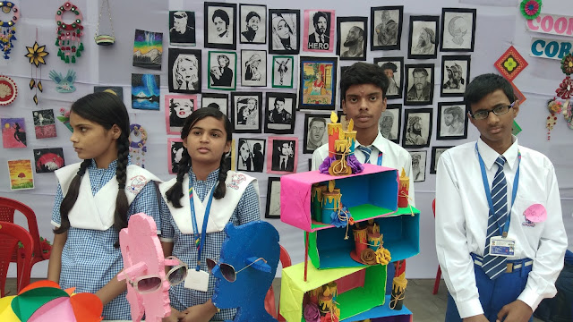 Students of Bethany School showed their talent in school exhibition
