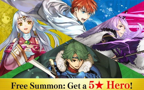 Free Summon: Get a 5* Hero