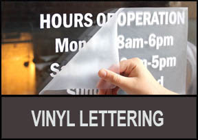 Vinyl Lettering Services for Home Office Auto in Pennsylvania PA