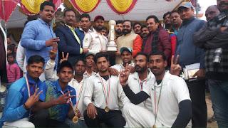 Jaunpur : वाराणसी ने मेरठ को हरा जीता खिताबी मुकाबला