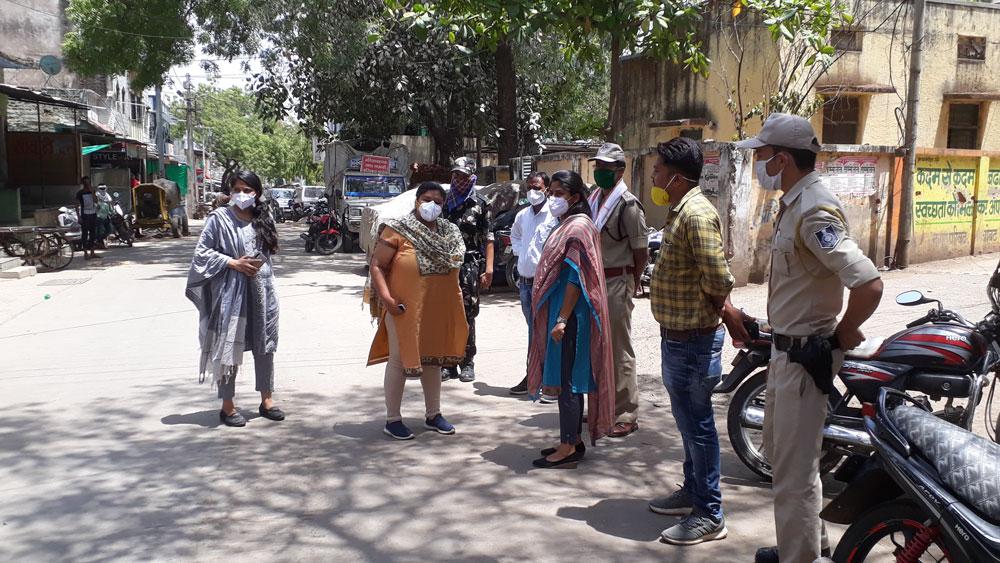 Alirajpur News- कलेक्टर- एसपी ने जोबट क्षेत्र का किया औचक निरीक्षण
