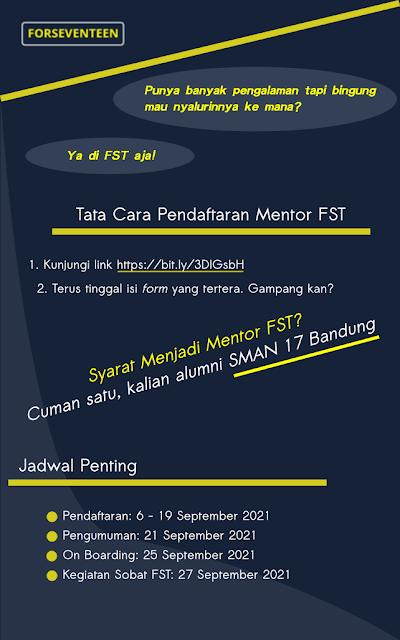 Infografis Oprec Mentor FST