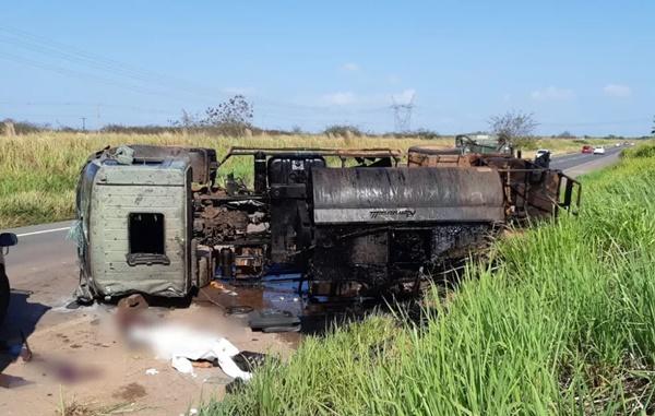 Militar do Exército morre durante acidente na BR-135, no Maranhão