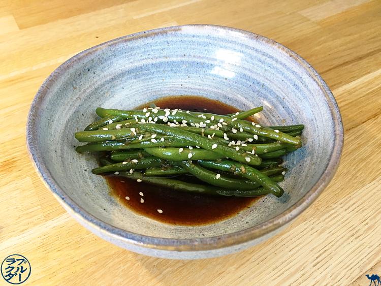 Le Chameau Bleu - Blog Cuisine - Recette de Poêlée de haricots verts à la Japonaise