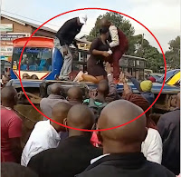Trapped%2Binside - SHOCKING and grisly road accident caught on camera in Ngara, the devil is back on our roads, here's the Video.