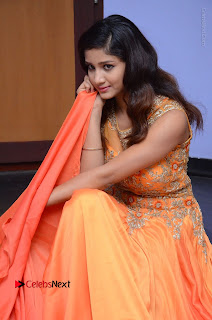 Telugu Actress Aarti Stills in Long Dress at Plus One ( 1) Audio Launch  0080.jpg