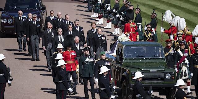 Pemakaman Pangeran Philip Berjalan Sesuai Permintaannya