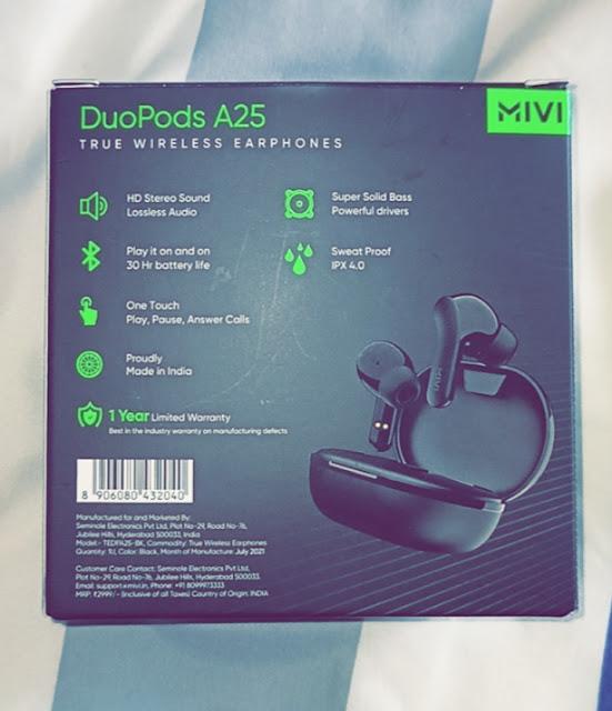 Best earpods under Rs. 999, mivi earpods, mivi duopods A25, DuoPods A25 Review,best earpods,mivi best earpods