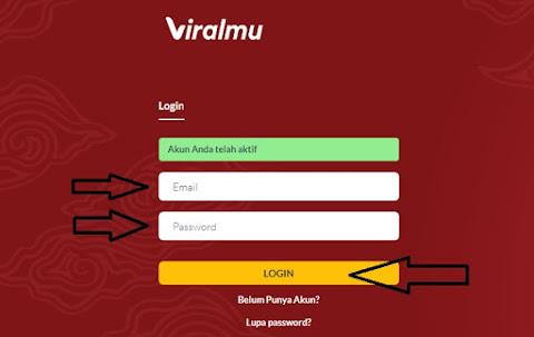 login akun viralmu