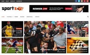 قالب بلوجر SportsMag 2019 لمواقع الرياضيه
