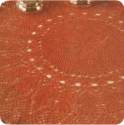 Tapete Color Teja a Crochet