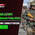 Indian Army Recuitment Rally 2020 | Notification| Eligibility Criteria: Check Here