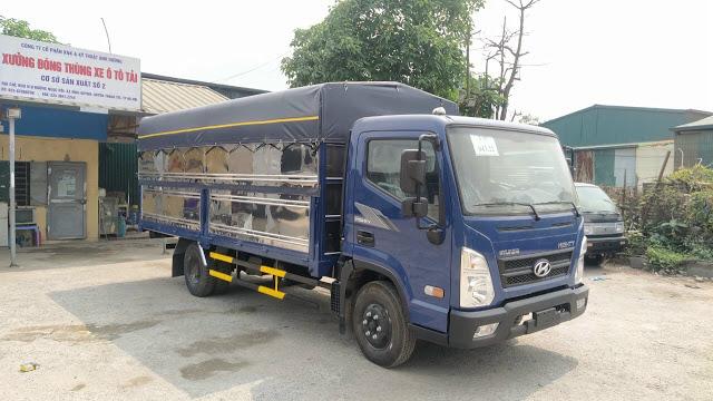 Xe tải Hyundai EX6 thùng bạt 5 tấn