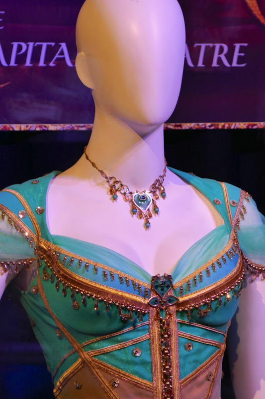 Aladdin Princess Jasmine costume necklace