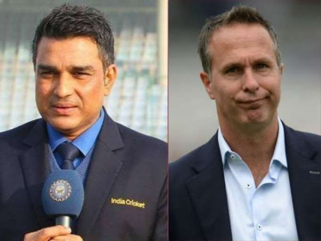 Manjrekar blocks Vaughan during India-New Zealand match after controversy on Twitter